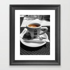 Coffee - espresso Framed Art Print