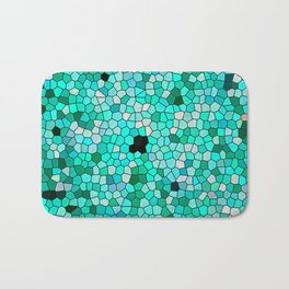 HARMONY IN TURQUOISE Bath Mat