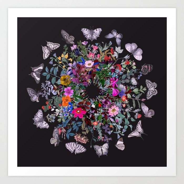 Butterfly Garden Kunstdrucke