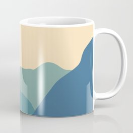 Mountains & River II Coffee Mug