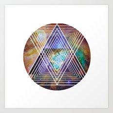 Cosmogeometry Art Print