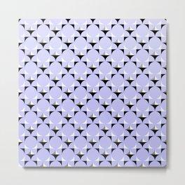 Mod Lavender Metal Print