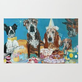 The Last Dessert Dog Portrait Rug