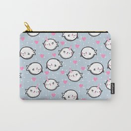 Cute narwhals. Carry-All Pouch