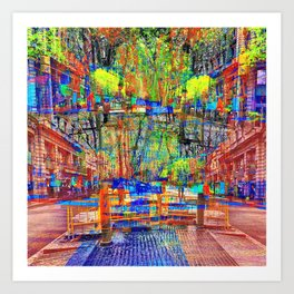 nuanced as has never been so until the abrupt now. Art Print