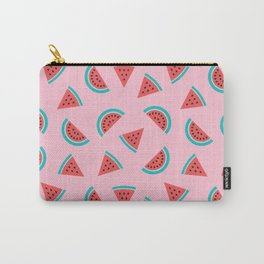 Watermelon Fruit Pattern Carry-All Pouch