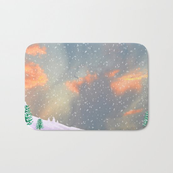 My Snowland | Christmas Spirit Bath Mat