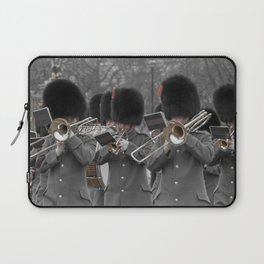 Musicians Play at the Regal Ritual of the Changing of the Guard at Buckingham Palace London England Laptop Sleeve