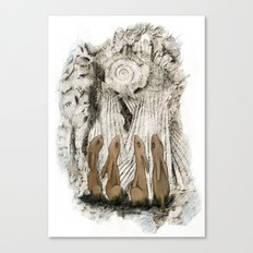 Hares Canvas Print