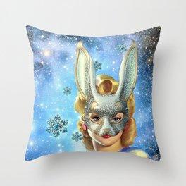 BUNNIE Throw Pillow