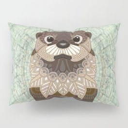 Ornate Otter Pillow Sham