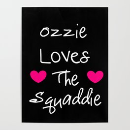 Doctor Who Ozzie Loves The Squaddie Poster