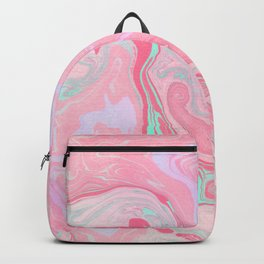 Marbled Effect with Pink Backpack