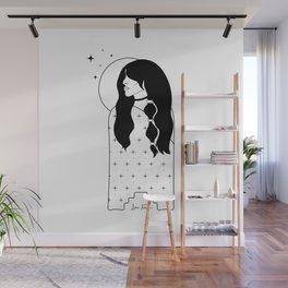 Moon Maiden Wall Mural
