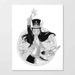 The Ringmaster Canvas Print