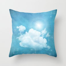 RISING DAY Throw Pillow
