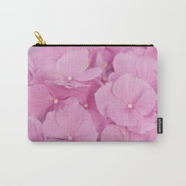 Light-Pink Hydrangeas #1 #decor #art #society6 Carry-All Pouch
