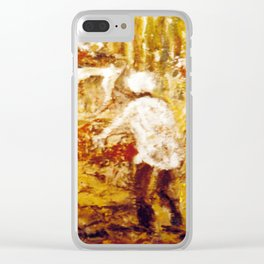 Gold Miners , AUSTRALIA             by Kay Lipton Clear iPhone Case
