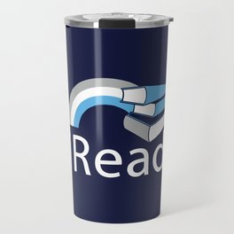 i Read | Book Nerd Slogan Travel Mug