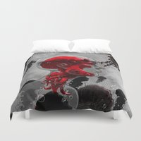politics Duvet Covers featuring Control by angrymonk