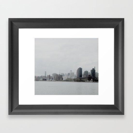 NEW YORK 3 Framed Art Print