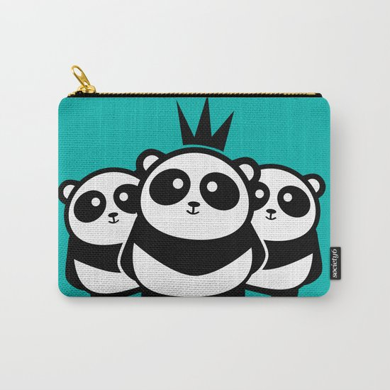 Panda Gang Carry-All Pouch