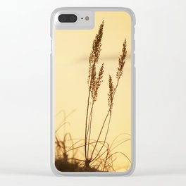 Made of Gold Clear iPhone Case