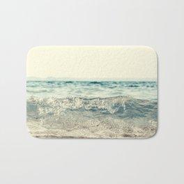 Vintage Waves Bath Mat