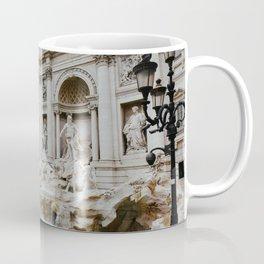 Trevi Fountain | Italian pastel colored houses Coffee Mug