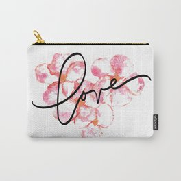 "Plumeria Love - A Romantic way to say, ""I Love You"" Carry-All Pouch"