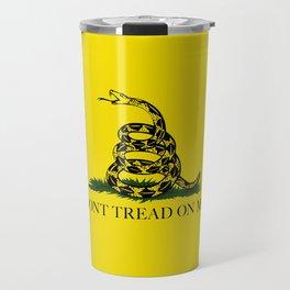 "Gadsden ""Don't Tread On Me"" Flag Travel Mug"