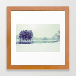 Mirror Lake Framed Art Print