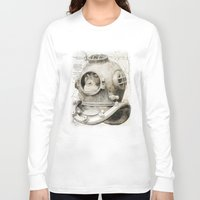scuba Long Sleeve T-shirts featuring scuba diving by PRIMATE