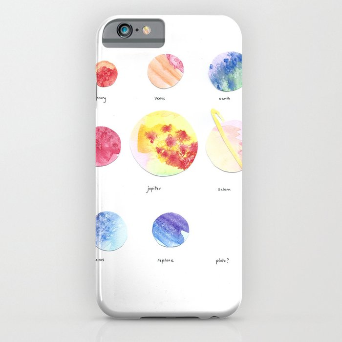 pluto? iPhone Case by frankiejean  Society6