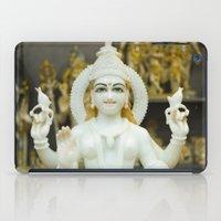 hindu iPad Cases featuring Lakshmi-Hindu Goddess in India by The Photo Buddha