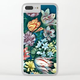 Dutch Delight Clear iPhone Case
