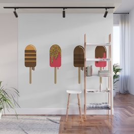 Summer Popsicles Wall Mural
