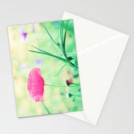 Poppy Romance Stationery Cards