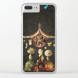 freaky christmas Clear iPhone Case