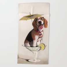 Tessi the party Beagle Beach Towel