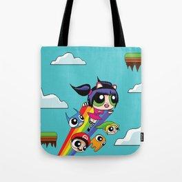 The Power Nyan Girl Tote Bag