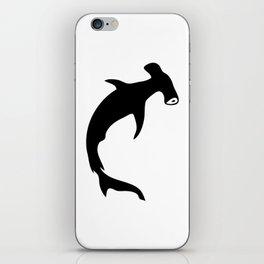 Bullhead Shark Silhouette iPhone Skin