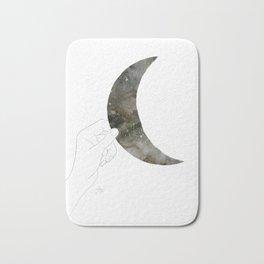 Get the  moon Bath Mat