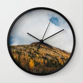 Autumn at Bird Creek IV Wall Clock