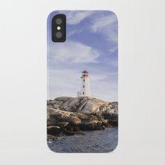 Peggy's Cove, Nova Scotia, Canada iPhone X Slim Case