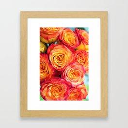 Bouqet Framed Art Print