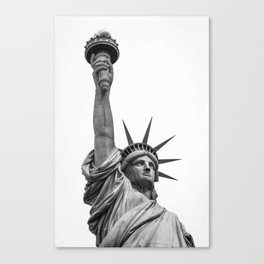 The Statue of Liberty in New York City 3 Canvas Print