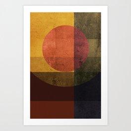 Geometric Composition 7 Art Print