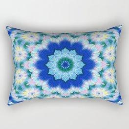 Newer Beginnings Mandala 5 Rectangular Pillow