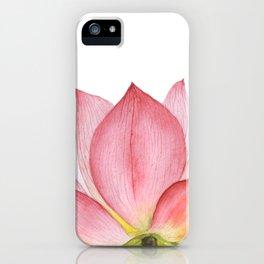 Pink lotus #2 iPhone Case